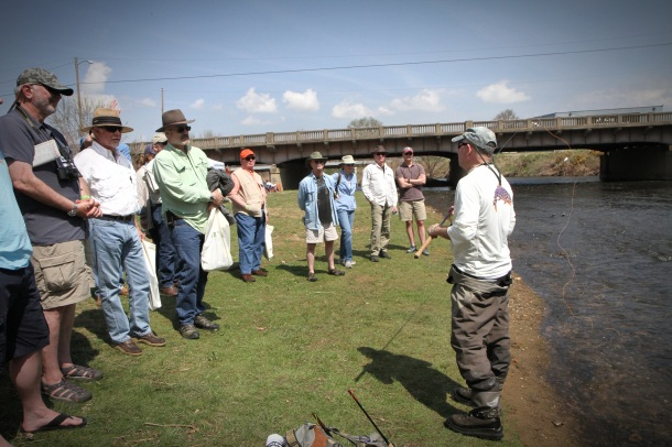 Recently, at the 2014 Virginia Fly Fishing & Wine Festival, Tom introduced several people to Tenkara