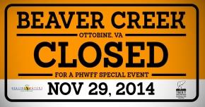 Special PHWFF Beaver Creek Event11/29/14