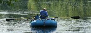 """TU Speaker: April 10th – LE Rhodes """"Fishing The JamesRiver"""""""